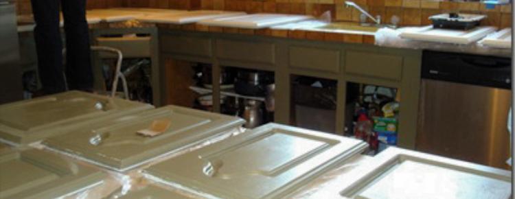 Painting kitchen cabinets Denver, kitchen cabinet painting Denver
