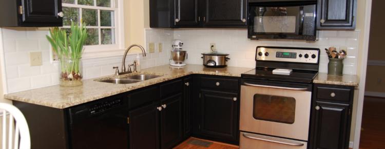 Painting kitchen cabinets Denver | cabinet refinishing Denver ...