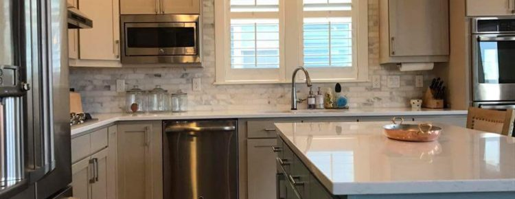 Kitchen cabinet painting in Denver