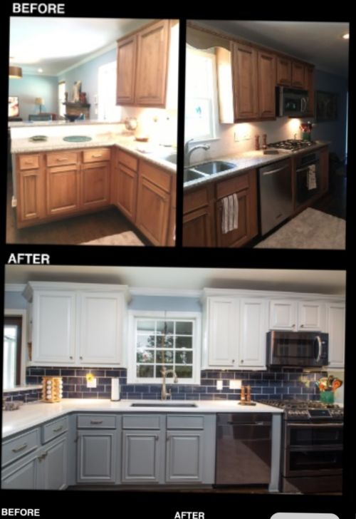 Kitchen Cabinet Painting Company in Denver