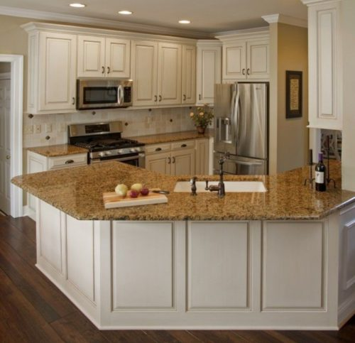 Kitchen cabinet painting Denver