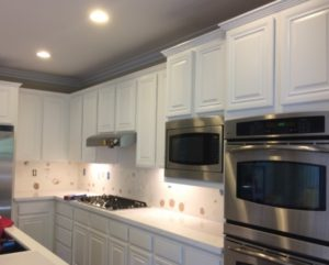 Kitchen cabinet Painting and cabinet refinishing Denver