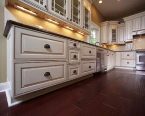 Kitchen cabinet painting and cabinet refinishing in Denver