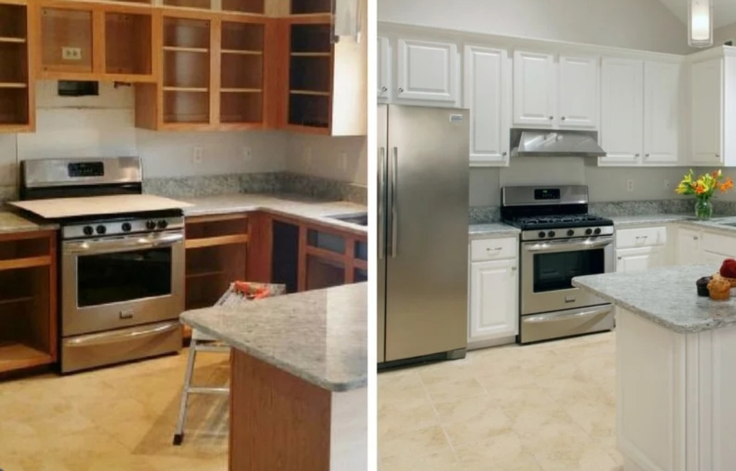 Kitchen Cabinet Painting in Denver - Painting Kitchen ...