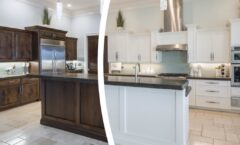 Painting Kitchen Cabinets And Cabinet Refinishing In Denver